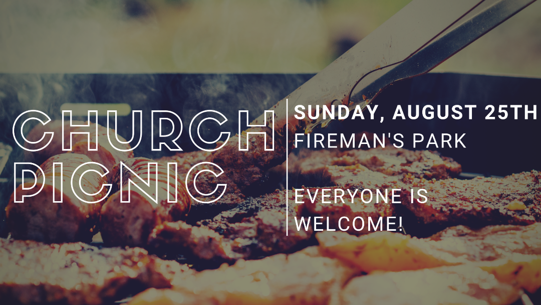 THE JOURNEY'S ANNUAL CHURCH PICNIC, SUNDAY, AUGUST 25TH